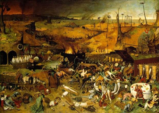Triunfo da morte, Pieter Brueguel, 1562