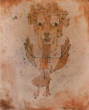Angelus Novus, de Paul Klee